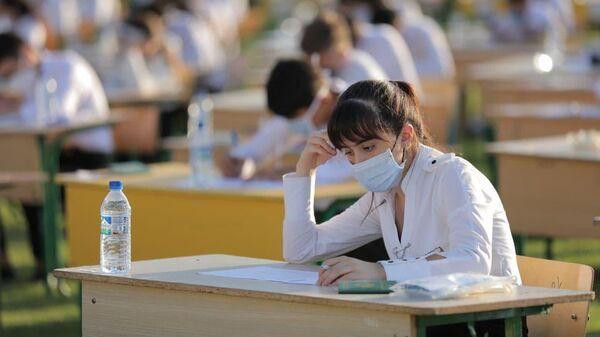 Вступительные экзамены в филиале МИСиС в Узбекистане - Sputnik Узбекистан