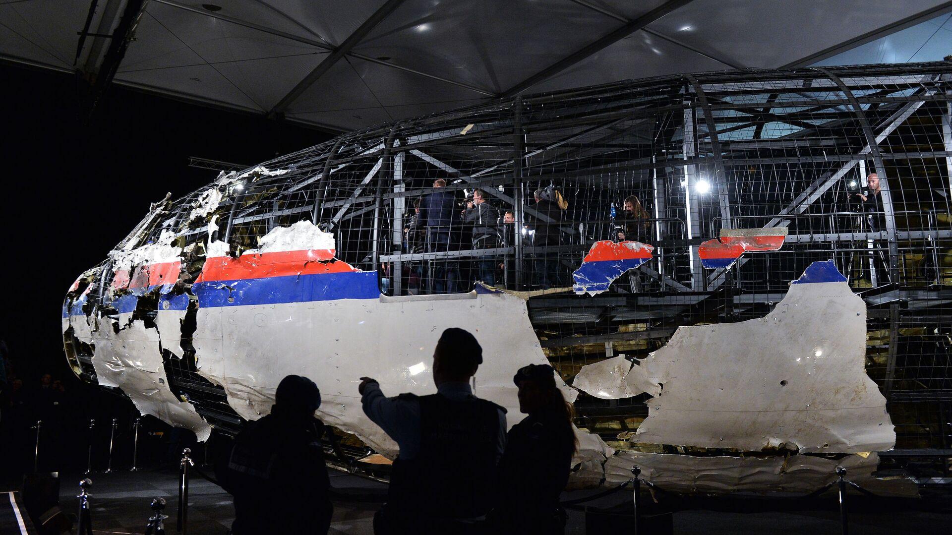 Доклад Совета безопасности Нидерландов по причинам крушения Boeing 777 - Sputnik Узбекистан, 1920, 28.07.2021