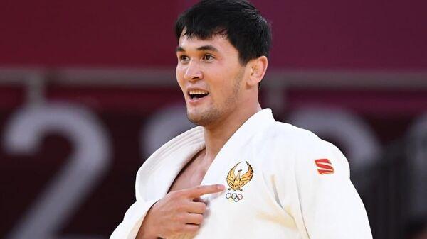 Давлат Бобонов завоевал первую медаль сборной Узбекистана по дзюдо на Олимпийских играх Токио-2020 - Sputnik Узбекистан