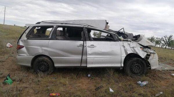 Авария в Актубе с участием узбекистанцев - Sputnik Ўзбекистон