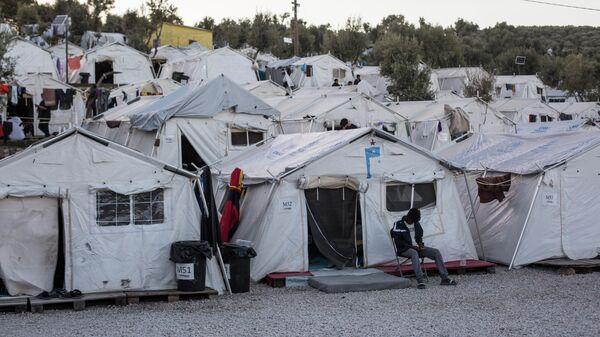 Лагерь для беженцев - Sputnik Ўзбекистон