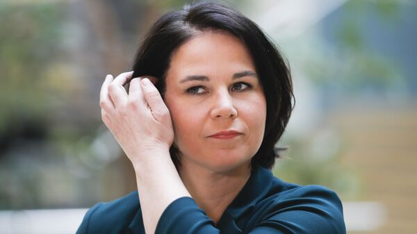 Кандидат на пост канцлера Германии от партии Зеленые Анналена Бербок - Sputnik Узбекистан