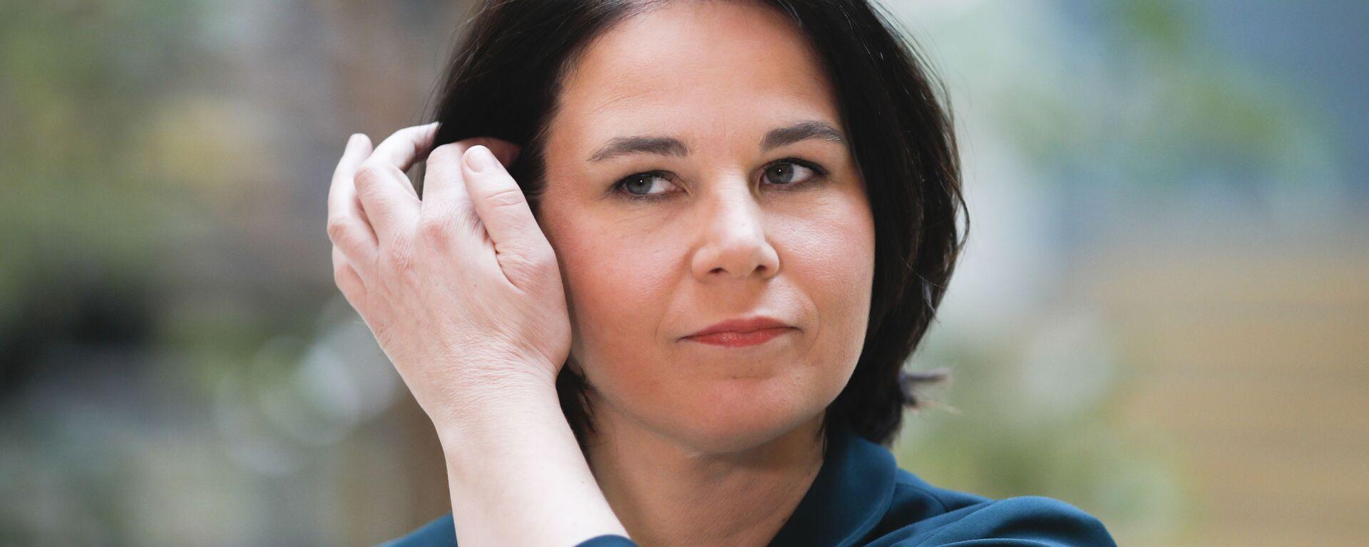 Кандидат на пост канцлера Германии от партии Зеленые Анналена Бербок - Sputnik Узбекистан, 1920, 30.07.2021