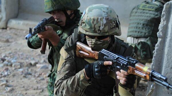 Тактические учения военных Узбекистана и Таджикистана  - Sputnik Ўзбекистон