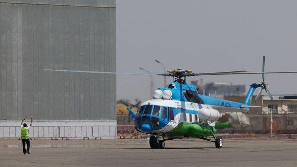 Uzbekistan Helicopters провел презентацию вертолетов Airbus H125 и Ми-8МТВ - Sputnik Узбекистан