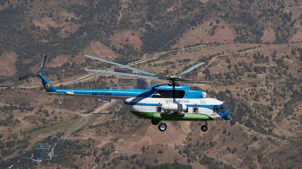 Uzbekistan Helicopters провел презентацию вертолетов Airbus H125 и Ми-8МТВ - Sputnik Ўзбекистон