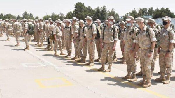 Российские военные прибыли на узбекско-афганскую границу - Sputnik Узбекистан