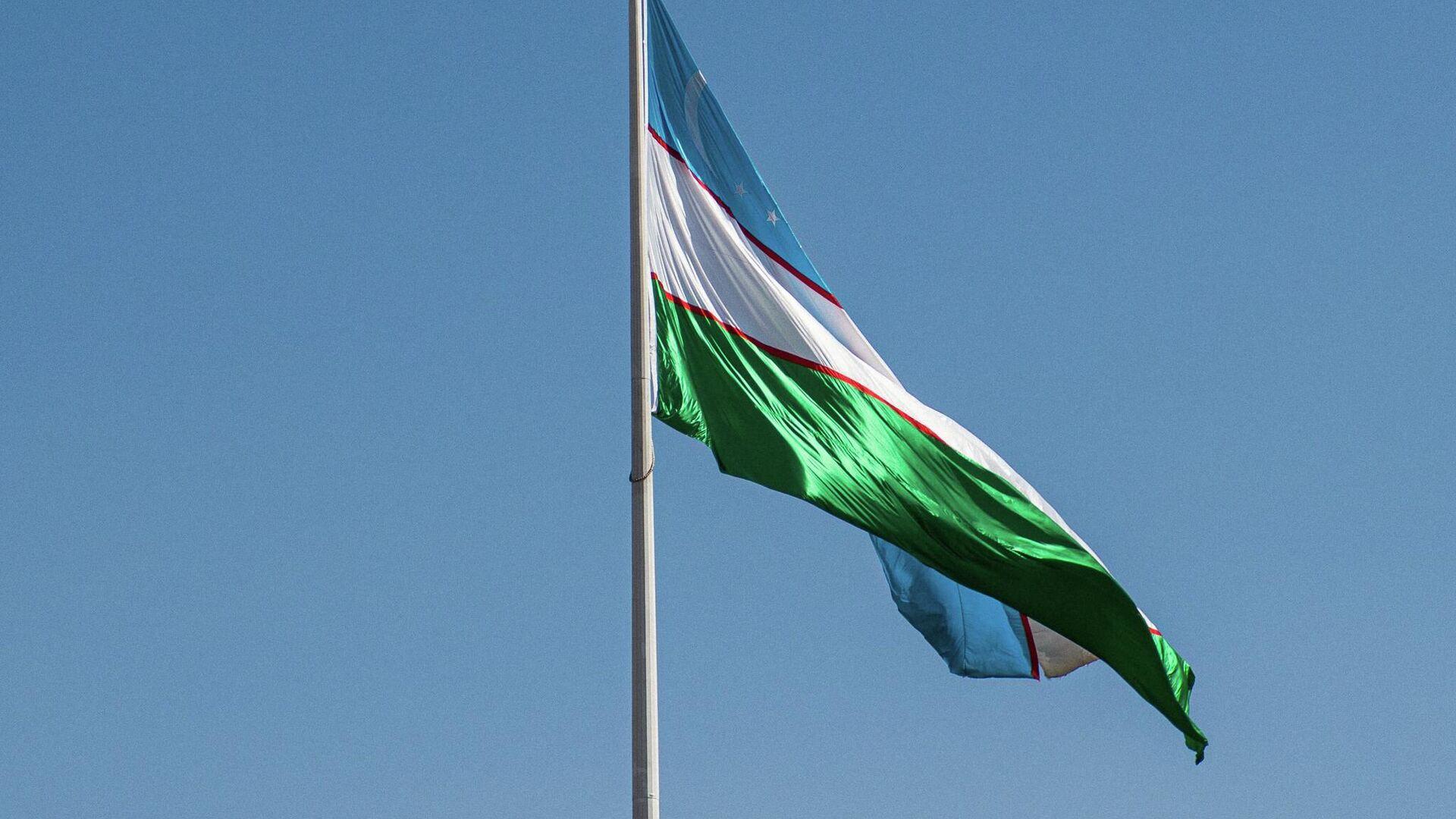 Флаг Узбекистана - Sputnik Ўзбекистон, 1920, 02.09.2021