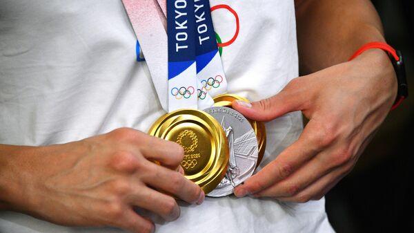 Medali na XXXII letnix Olimpiyskix igrax v Tokio - Sputnik Oʻzbekiston