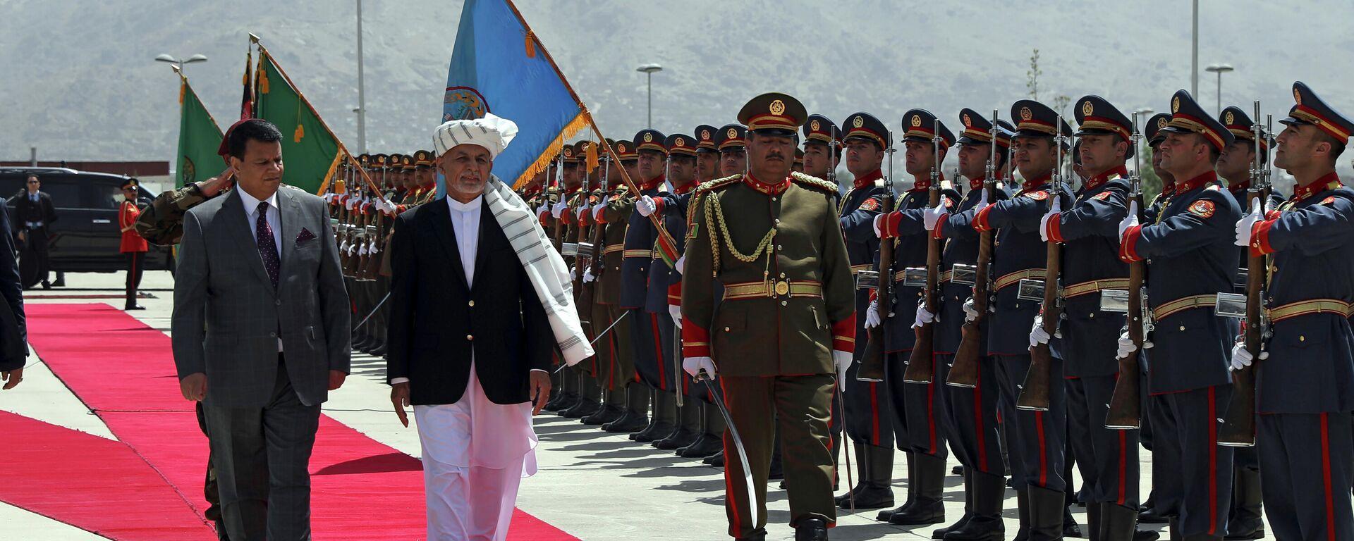 Prezident Afganistana Ashraf Gani - Sputnik Oʻzbekiston, 1920, 02.08.2021