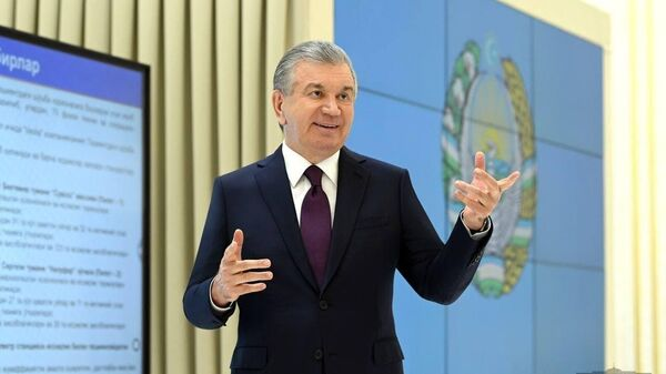 Шавкат Мирзиёев ознакомился с проектом теплоснабжения Ташкента - Sputnik Ўзбекистон