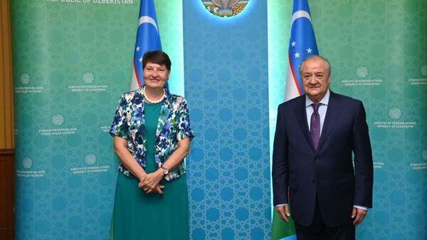 В Узбекистане завершила дипмиссию посол Финляндии - Sputnik Узбекистан