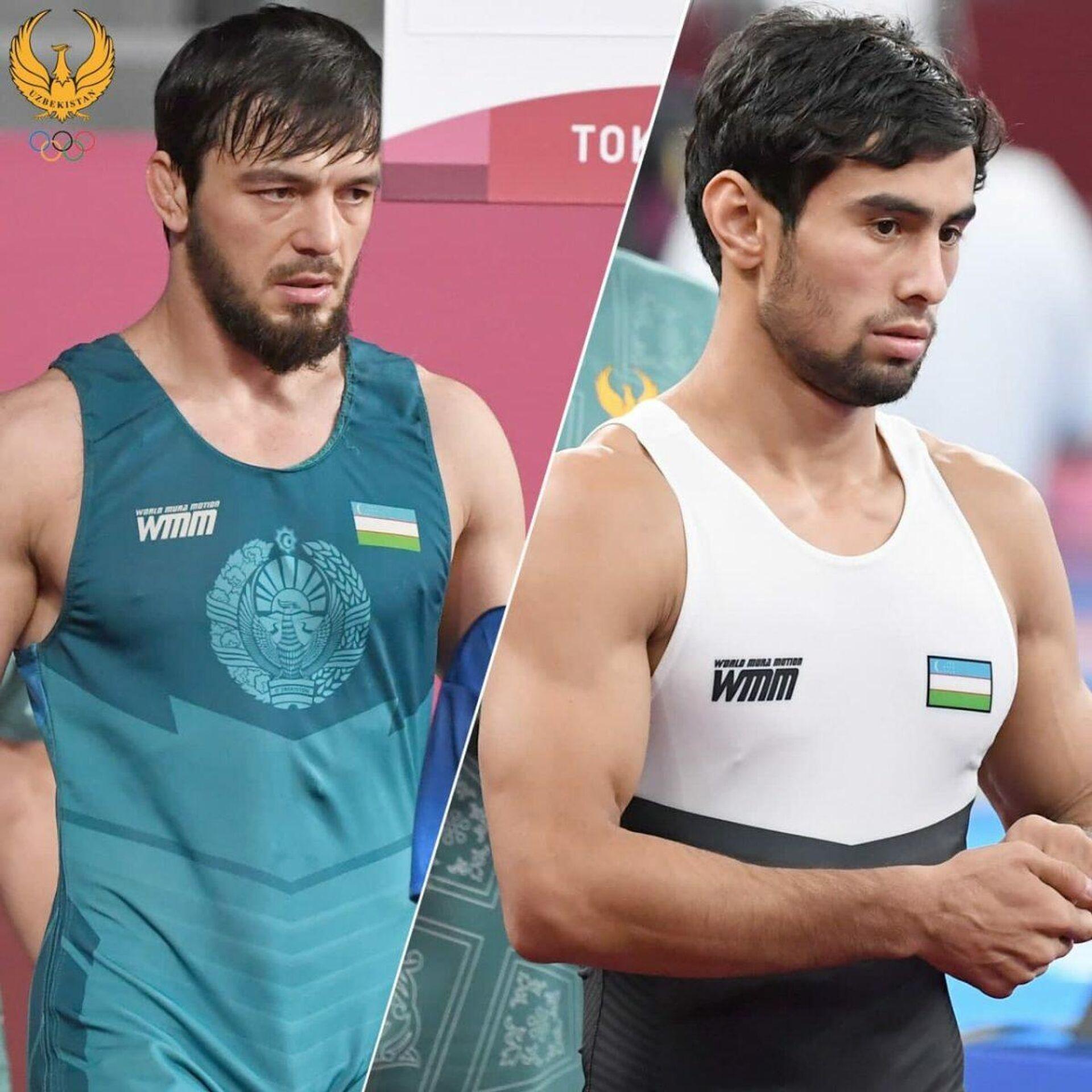 Volnaya borba: Abdullayev i Shapiyev srazyatsya za bronzu - Sputnik Oʻzbekiston, 1920, 04.08.2021