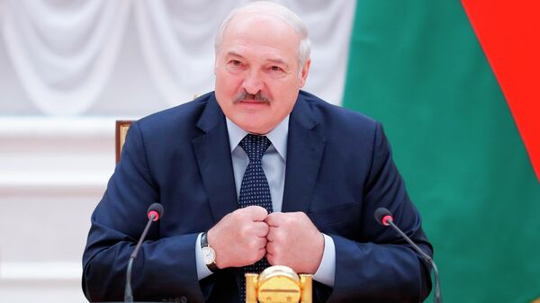 Prezident Belorussii Aleksandr LukashenkoNG - Sputnik Oʻzbekiston