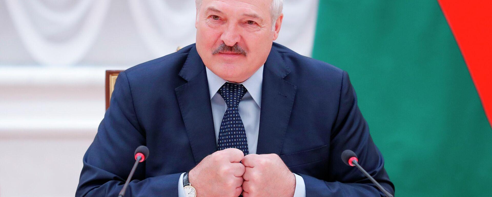Президент Белоруссии Александр ЛукашенкоНГ - Sputnik Ўзбекистон, 1920, 05.08.2021