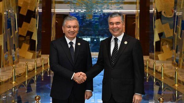 Prezident Uzbekistana provel vstrechu s Prezidentom Turkmenistana  - Sputnik Oʻzbekiston