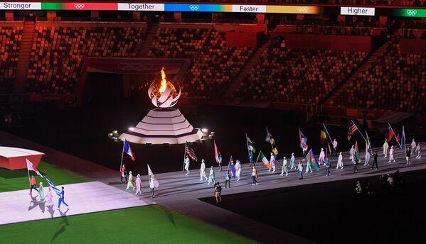 Atletchilar paradi - Sputnik Oʻzbekiston