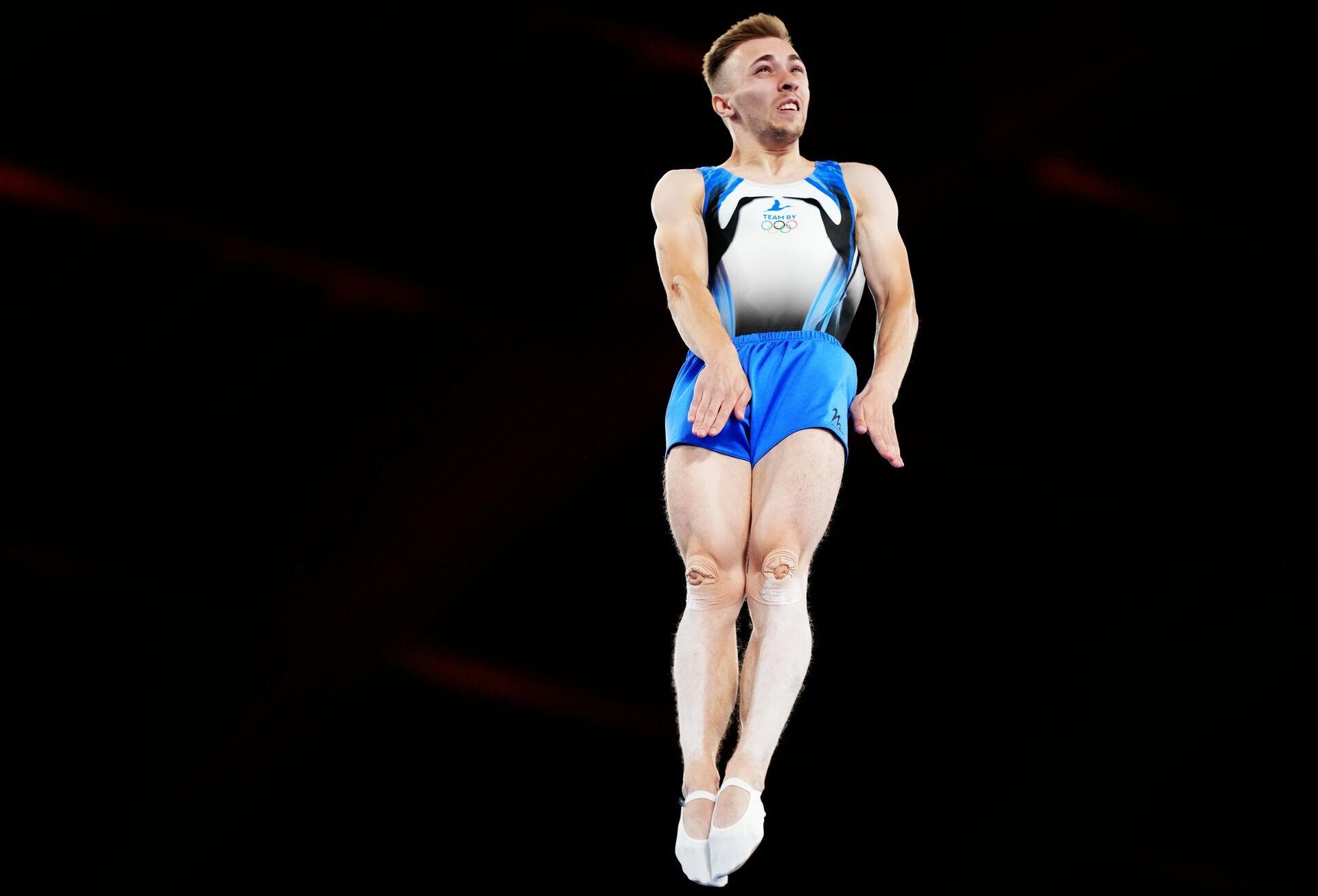 Олимпиада-2020. Прыжки на батуте. Мужчины - Sputnik Узбекистан, 1920, 09.08.2021