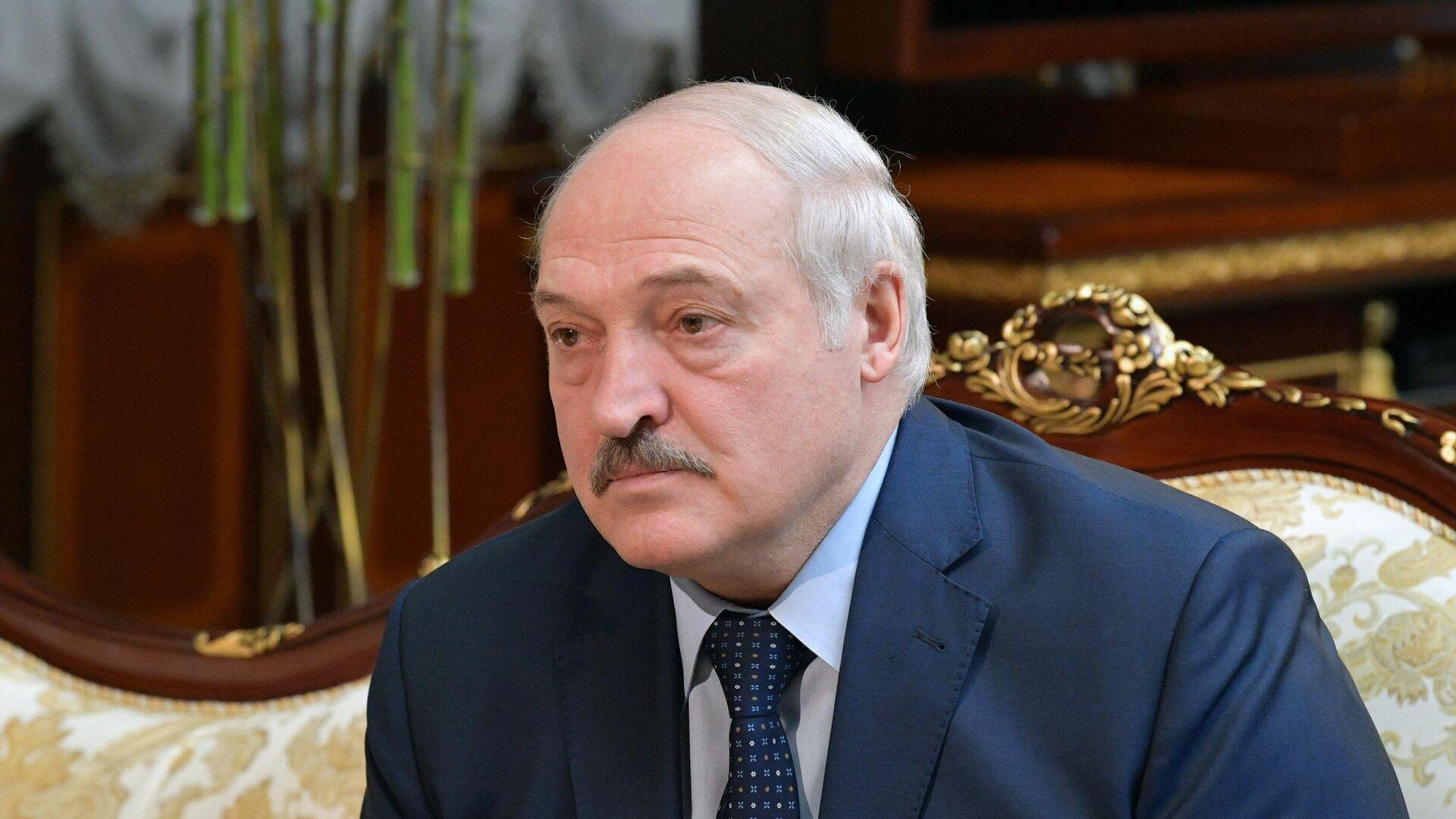 Президент Белоруссии Александр Лукашенко - Sputnik Ўзбекистон, 1920, 09.08.2021