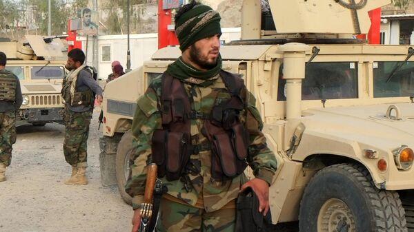 Военнослужащий Афганистана - Sputnik Ўзбекистон