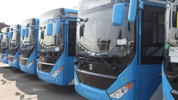 Автобусы марки Zhongtong - Sputnik Ўзбекистон