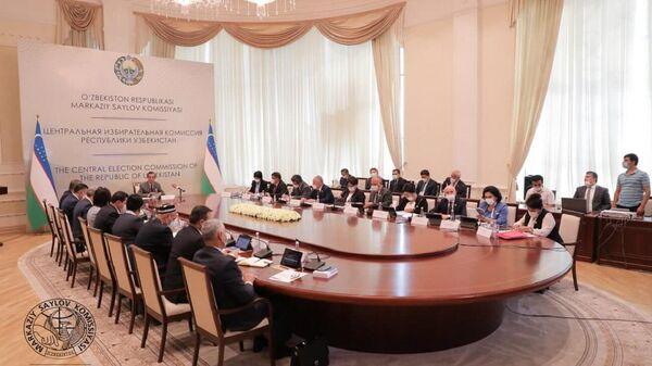 Центральная избирательная комиссия выдала партиям разрешения на участие в президентских выборах. - Sputnik Ўзбекистон