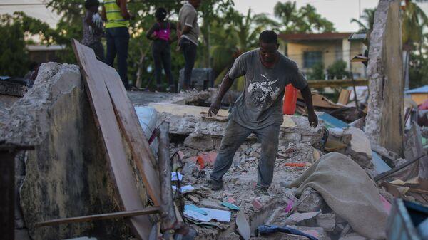 Землетрясение в Гаити - Sputnik Ўзбекистон