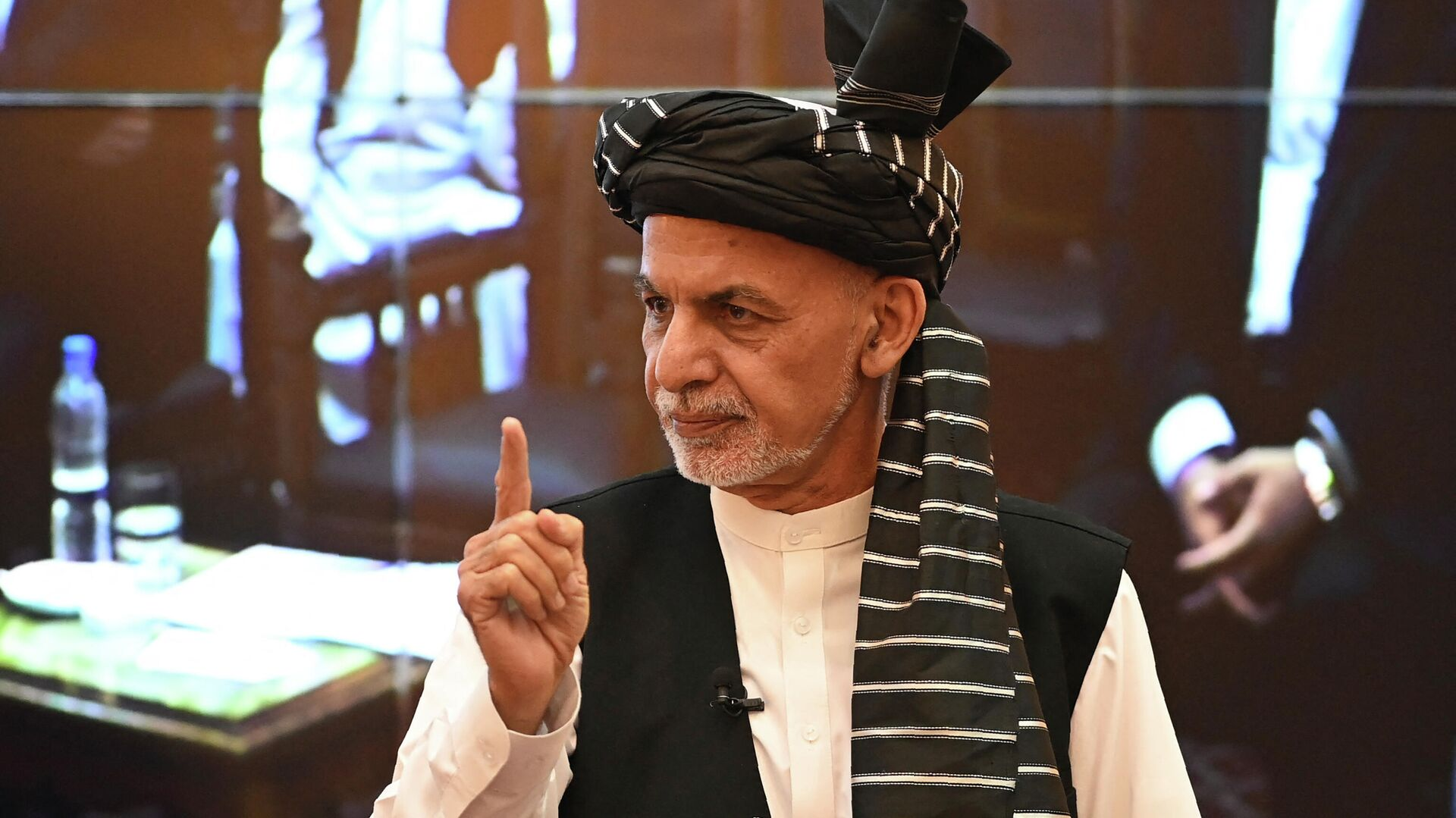 Prezident Afganistana Ashraf Gani - Sputnik Oʻzbekiston, 1920, 24.09.2021