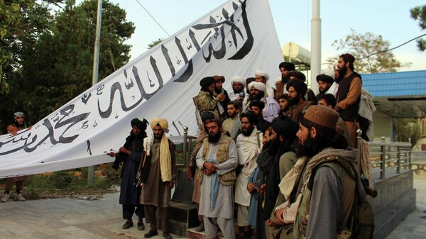 Боевики движения Талибан (Запрещено в РФ) - Sputnik Ўзбекистон