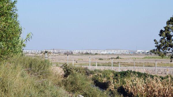 Ситуация на границе Узбекистана и Афганистана в районе города Термез - Sputnik Узбекистан