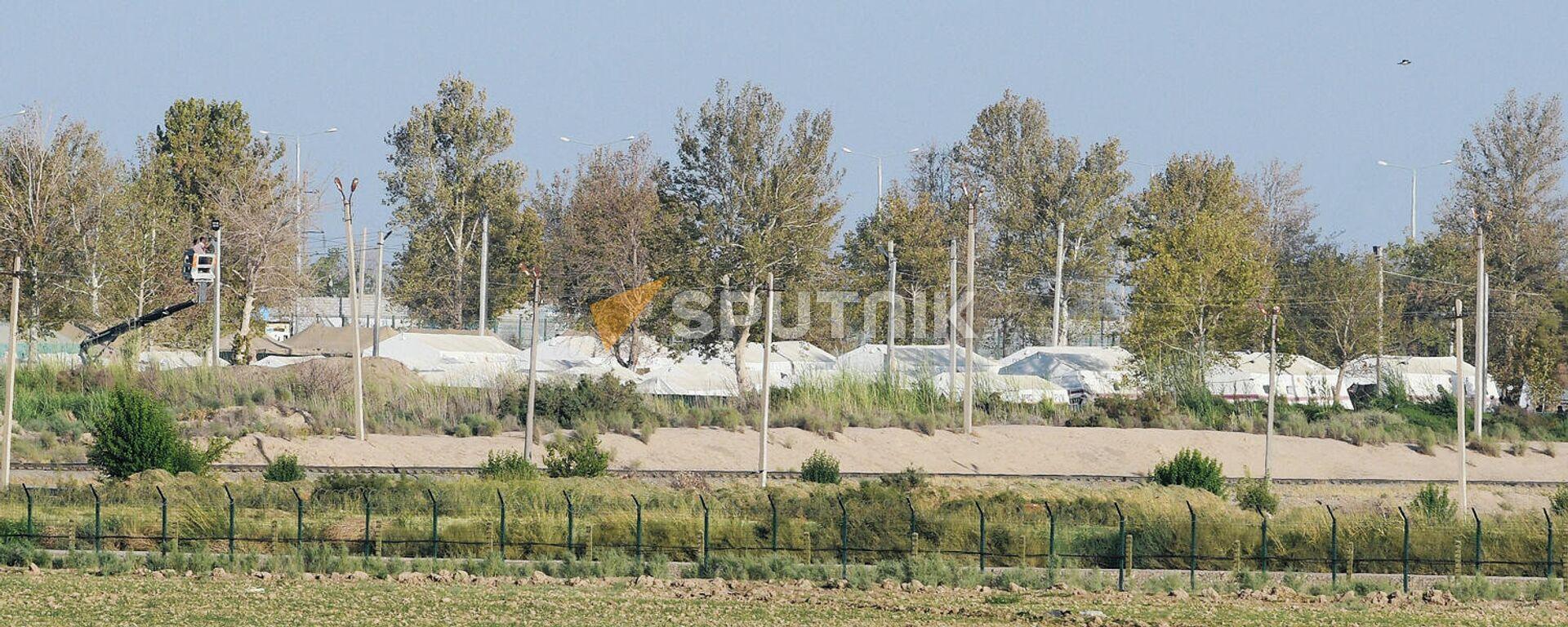 Ситуация на границе Узбекистана и Афганистана в районе города Термез - Sputnik Ўзбекистон, 1920, 18.08.2021