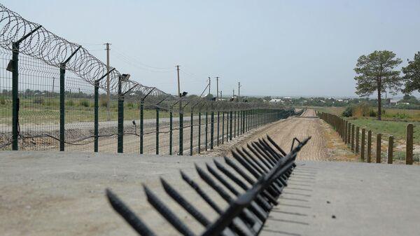 Узбеко-афганская граница в районе Термеза - Sputnik Ўзбекистон