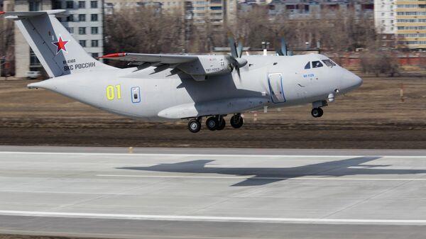 Второй полет нового российского военно-транспортного самолета Ил-112В - Sputnik Ўзбекистон
