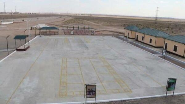 В Навоийской области сданы в эксплуатацию новые учебные полигоны - Sputnik Узбекистан