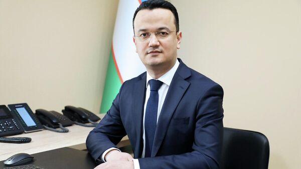 Pervыy zamministra investitsiy i vneshney torgovli Laziz Kudratov - Sputnik Oʻzbekiston