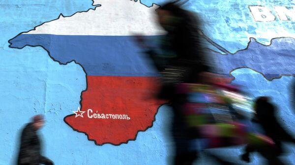 Krыmskiy poluostrov na karte - Sputnik Oʻzbekiston