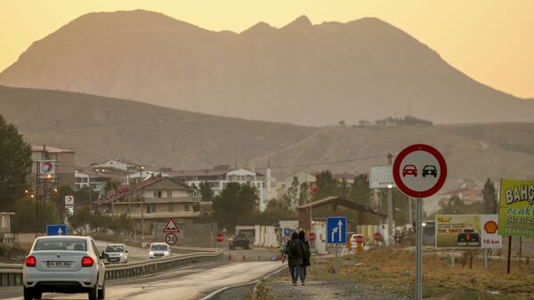 Афганские мигранты в Татване, Турция - Sputnik Узбекистан