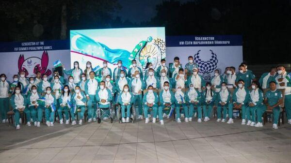 Paralimpiytsы Uzbekistana - Sputnik Oʻzbekiston