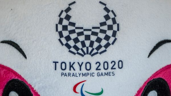 Логотип паралимпийских игр в Токио - Sputnik Ўзбекистон