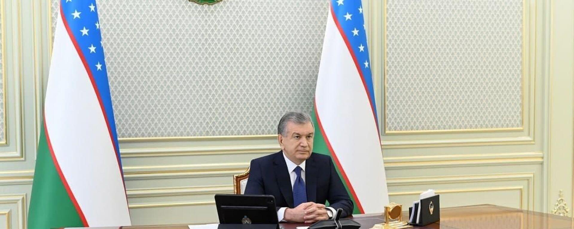 Prezident Uzbekistana prinyal uchastiye v sammite ODKB - Sputnik Oʻzbekiston, 1920, 23.08.2021