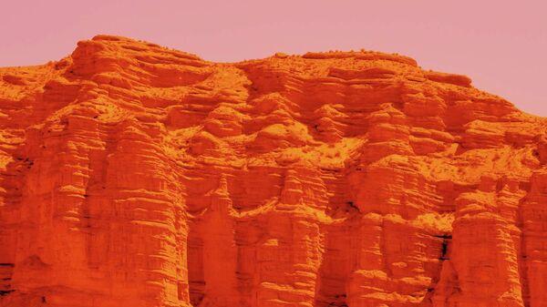 Марсианские горы - Sputnik Ўзбекистон