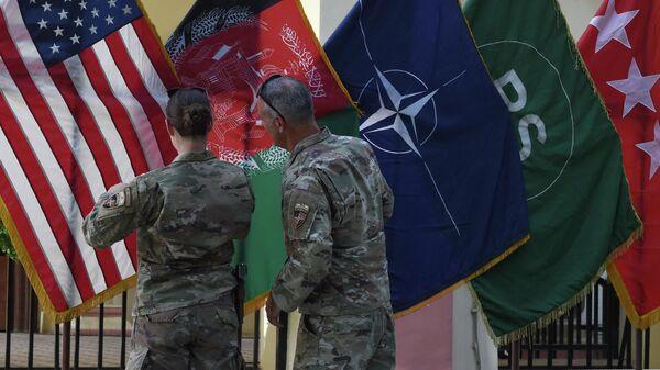 Shtab operatsii Reshitelnaya podderjka v Zelenoy zone v Kabule  - Sputnik Oʻzbekiston