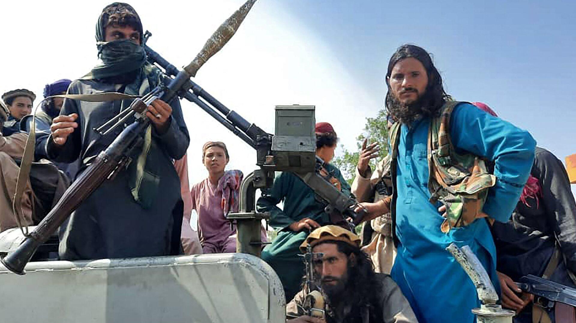 Боевики Талибана* в провинции Лагман, Афганистан - Sputnik Ўзбекистон, 1920, 02.09.2021