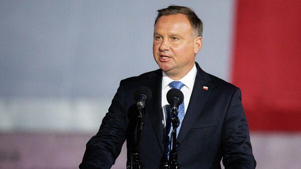 Президент Польши Аджей Дуда - Sputnik Узбекистан