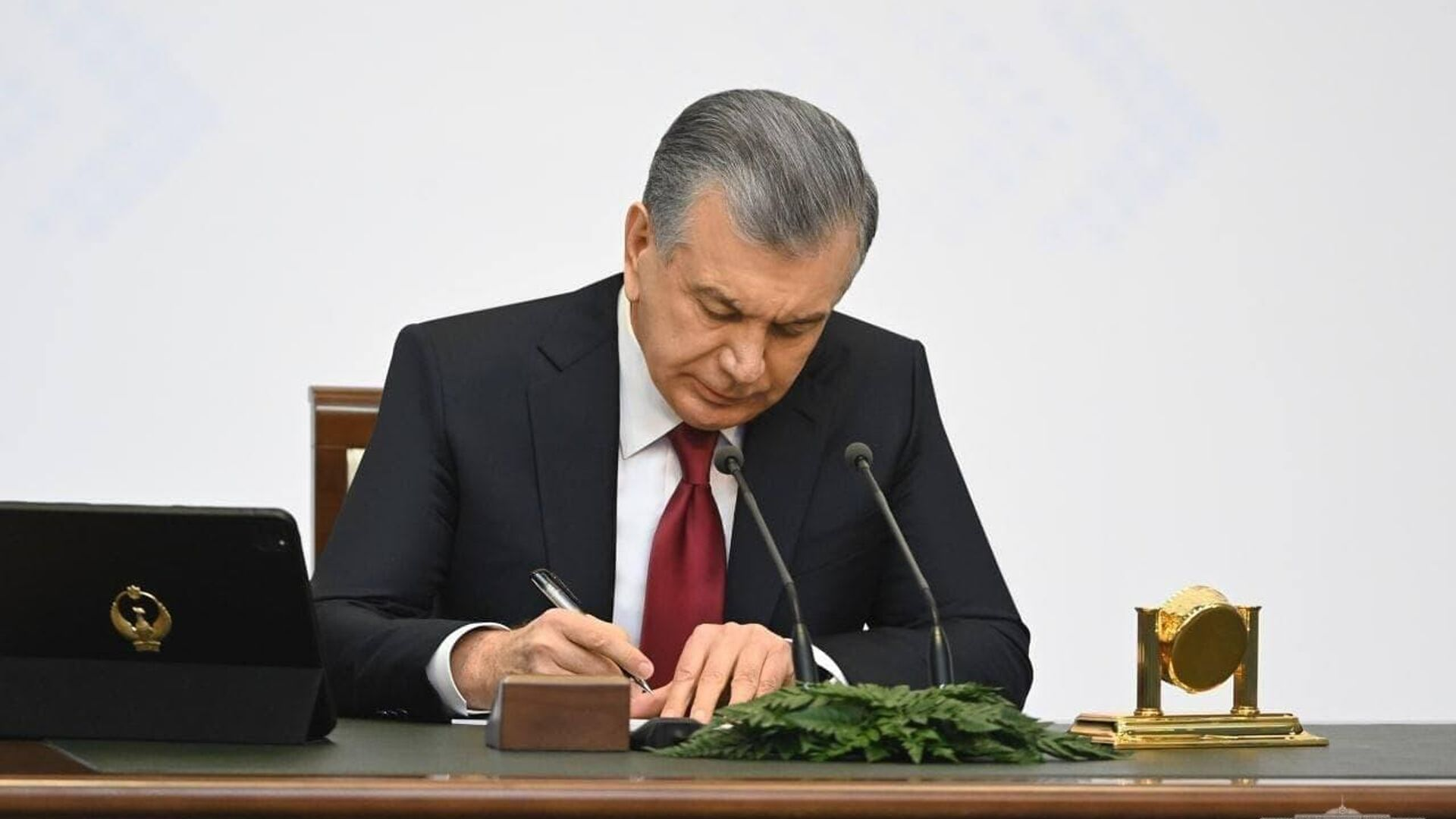 Prezident Uzbekistana Shavkat Mirziyoyev - Sputnik Oʻzbekiston, 1920, 26.08.2021