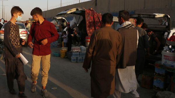 Situatsiya u aeroporta Kabula - Sputnik Oʻzbekiston
