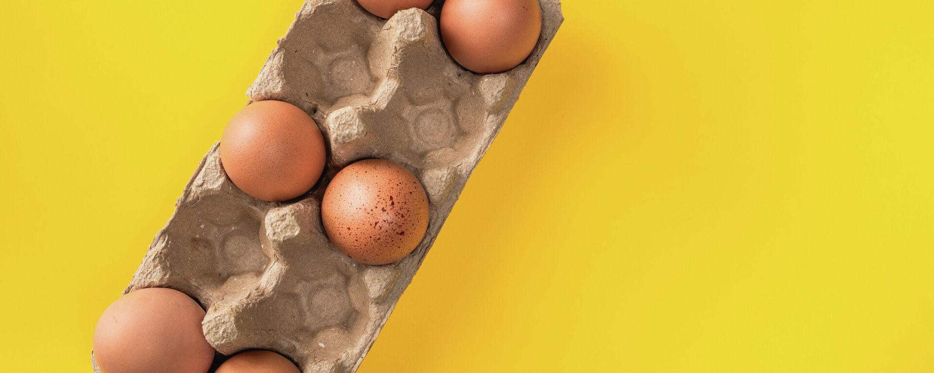 Яйца - Sputnik Узбекистан, 1920, 30.08.2021