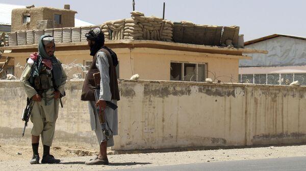 Boyeviki Talibana* v gorode Gazni, Afganistan - Sputnik Oʻzbekiston