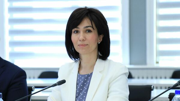 Проректор Университета мировой экономики и дипломатии МИД Гульноза Исмаилова - Sputnik Ўзбекистон