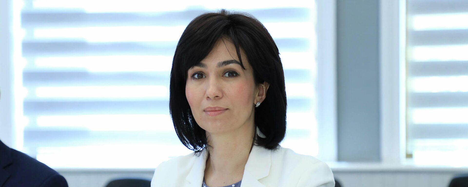 Проректор Университета мировой экономики и дипломатии МИД Гульноза Исмаилова - Sputnik Узбекистан, 1920, 03.09.2021